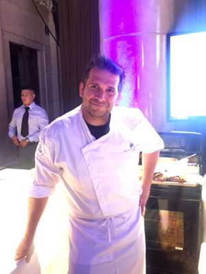 Chef Paul Denamiel Portrait